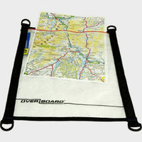 Map Pouch Black Waterproof A4