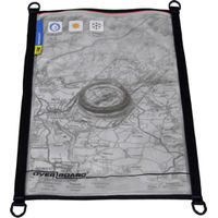 Map Pouch Black Waterproof A3 Splash Proof