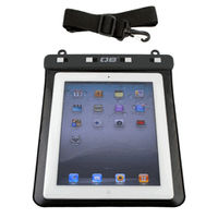 Waterproof Ipad Case - Black with Shoulder Strap